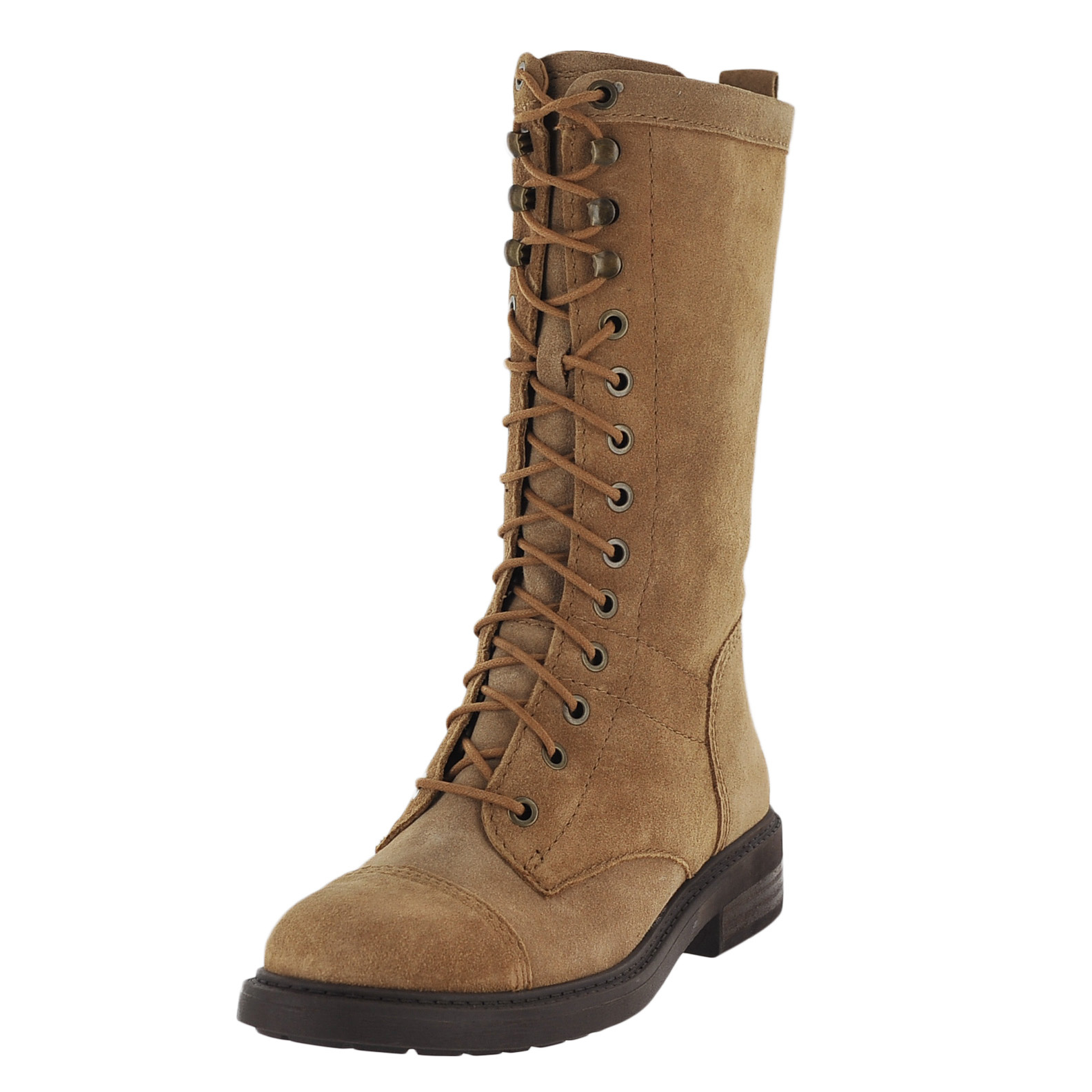 nine west gunner suede womens winter boot