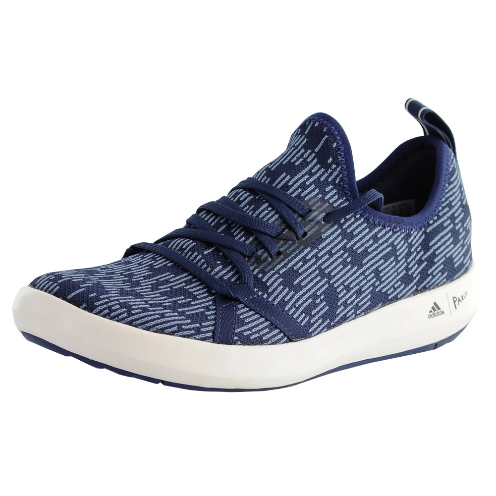 9f06e7f9836 Details about Adidas Terrex Cc Boat Parley Blue Grey White Mens Boat Shoes  Size 8M