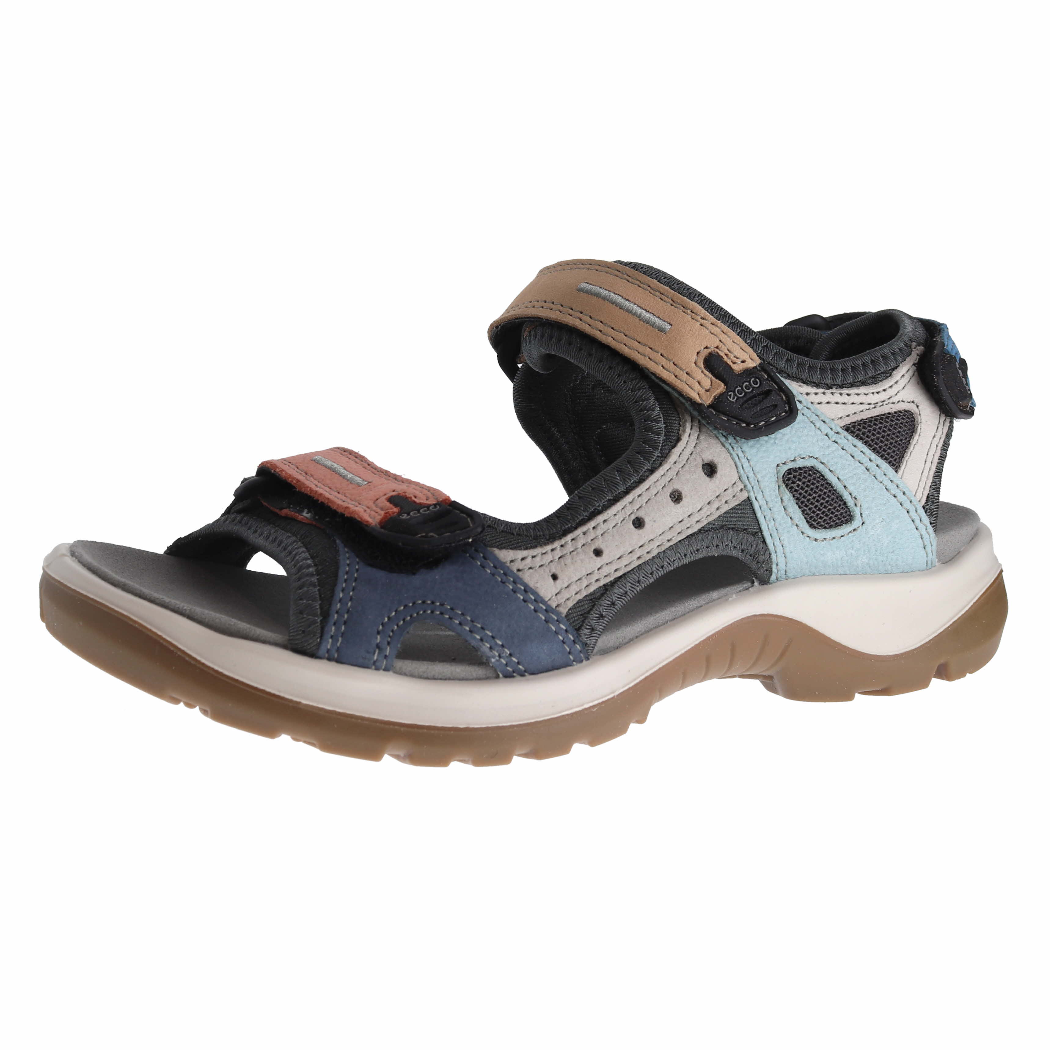 7db5b2b7ee90 Details about Ecco Offroad Yucatan Multicolor Womens Sport Sandals Size 36M