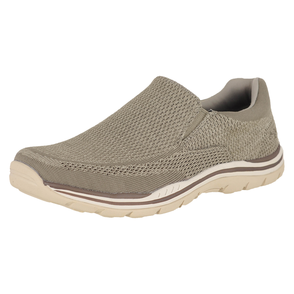 Details about Skechers Expected Gomel Taupe Mens Loafers Size 9M