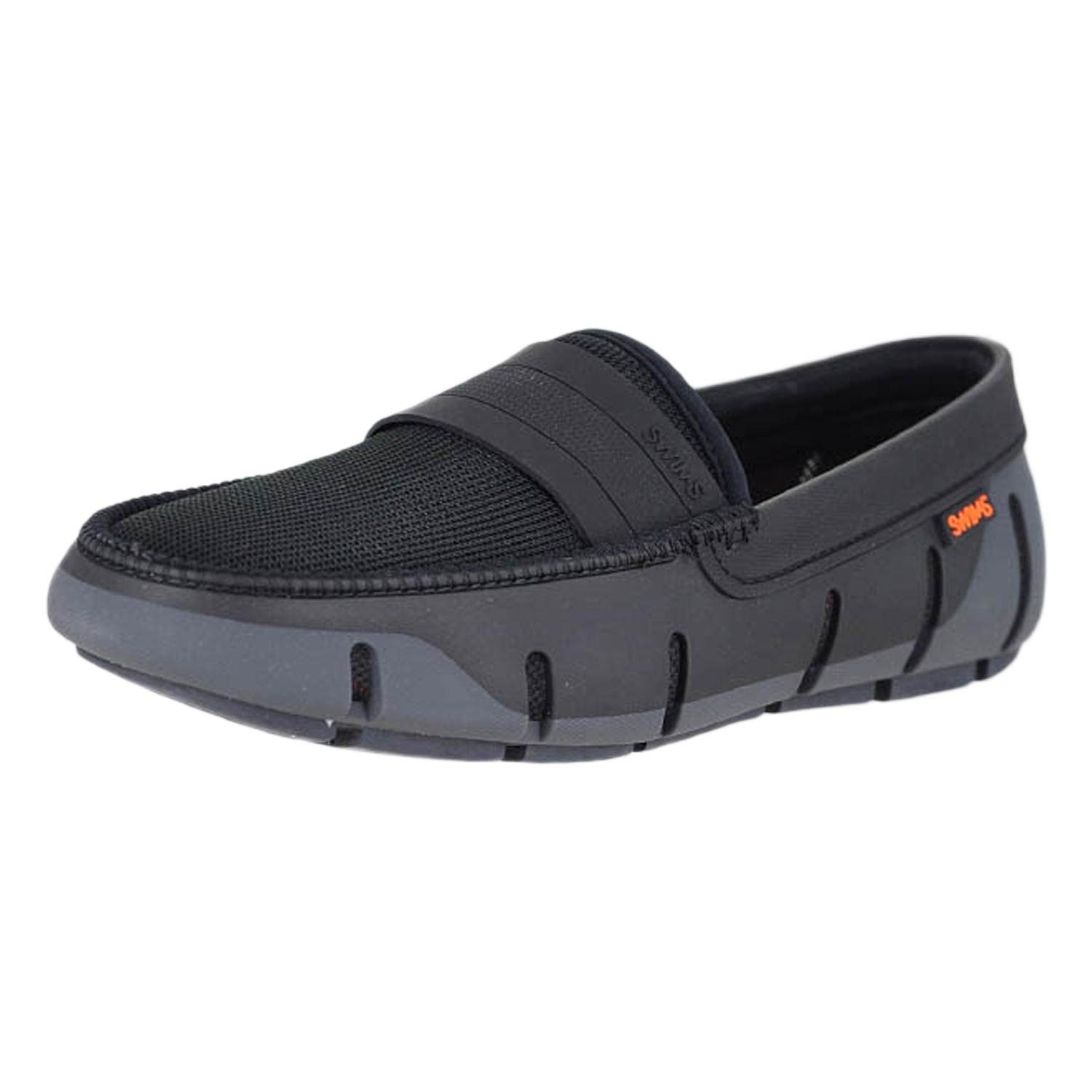 5aa3e55b9a3 Details about Swims Stride Single Band Keeper Graphite Black Mens Loafers  Size 13M