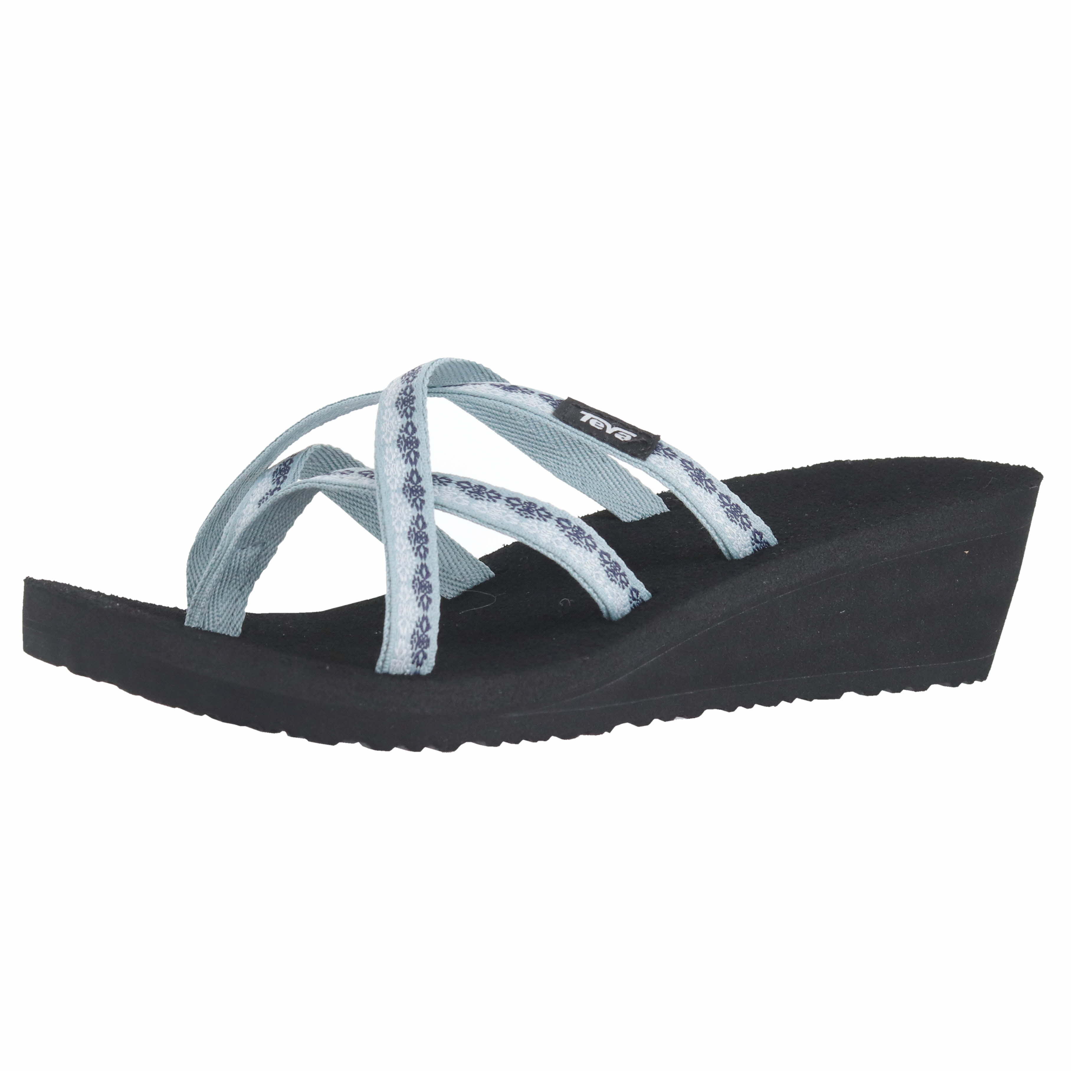 7b85be8dddd828 Details about Teva Mush Mandalyn Wedge Ola 2 Chisolm Gray Mist Womens Wedges  Size 11M