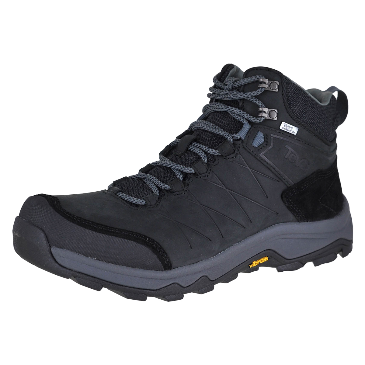 60f86a735c9a6 Details about Teva M Arrowood Riva Mid Wp Black Blk Mens Hiking Boots Size  11.5M