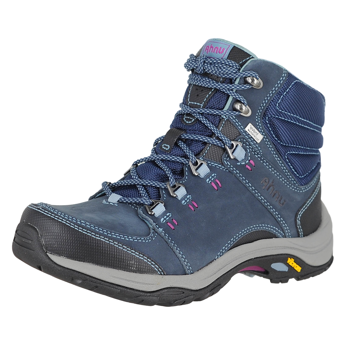 74aaeace6 Details about Ahnu By Teva Montara Iii Boot Event Blue Spell Womens Hiking  Boots Size 6M