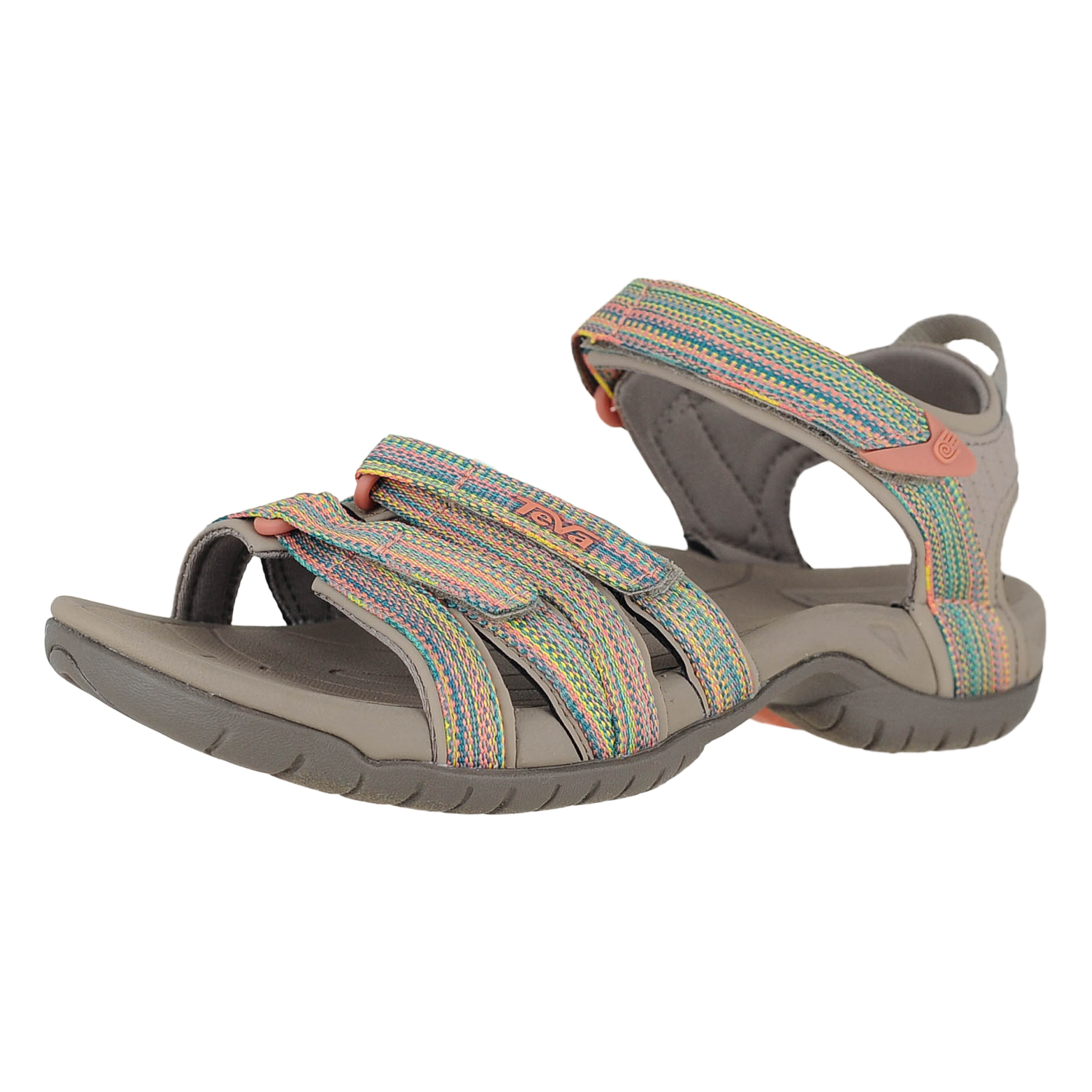 b58353469fe Details about Teva Tirra 4266 Taupe Multi Womens Sport Sandals Size 8M