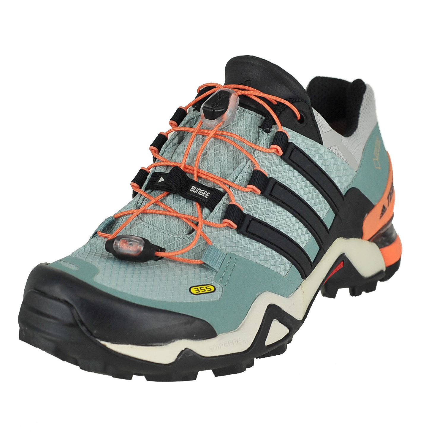 a7a90acfb Details about Adidas Terrex Fast R Gtx Tactile Green Blk Vapour Steel Womens  Hiking Shoe 10M