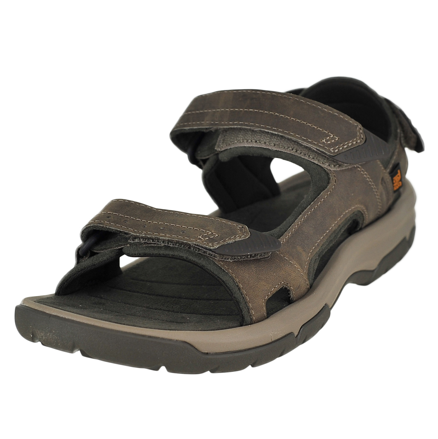 290e67bae Teva Langdon Sandal Walnut Mens Ankle Hook And Loop Strap Size 8M ...